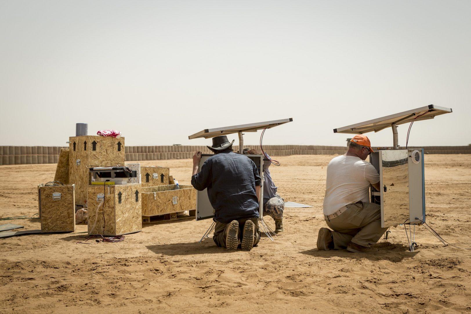 Wasser in der Wüste - TheMan